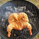 Ātrā vistas marināde cepšanai uz grilla
